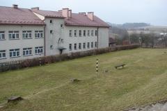 Sala gimnastyczna w Rzepienniku Biskupim przed