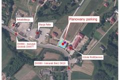 8 planowany parking przy Szkole Podstawowej w  Rzepienniku Strzyżewskim