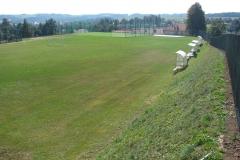 Przebudowa boiska w Olszynach po