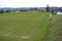 Przebudowa boiska w Olszynach przed