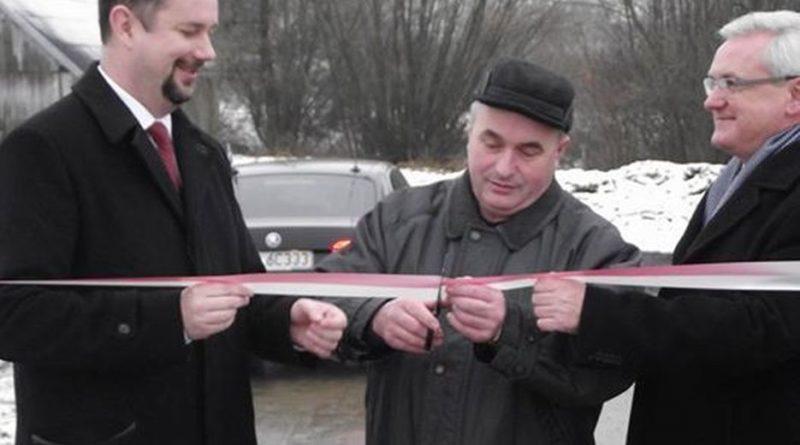 Otwarcie mostu na drodze gminnej w Rzepienniku Biskupim