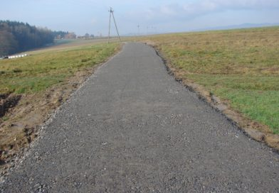 Droga dojazdowa do gruntów rolnych w Olszynach