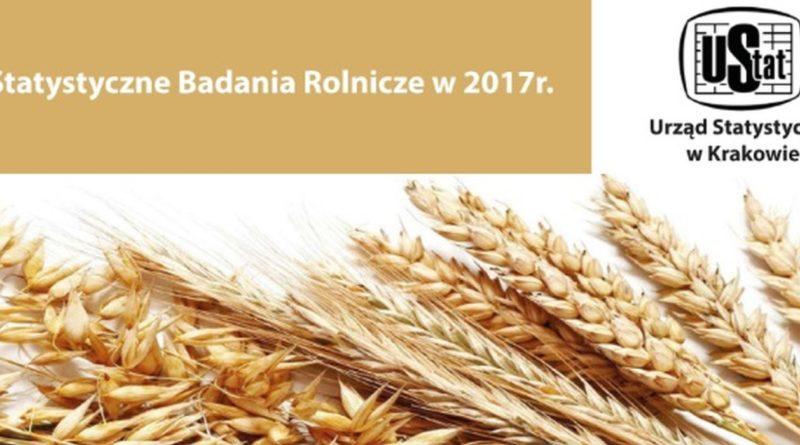 Statystyczne badania rolnicze w 2017 r.