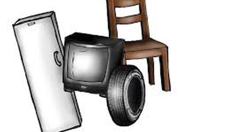 Zbiórka odpadów wielkogabarytowych, elektrycznych i niebezpiecznych