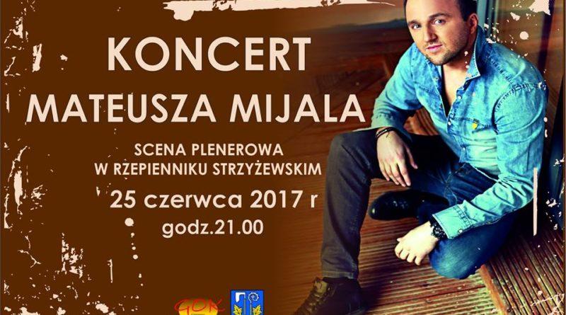 Koncert Mateusza Mijala