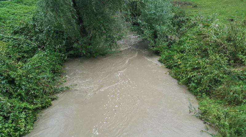 Wysoki stan  wód w rzekach