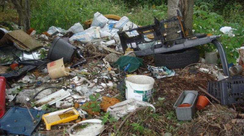 """Sprzątanie dzikich wysypisk """"śmieci"""""""
