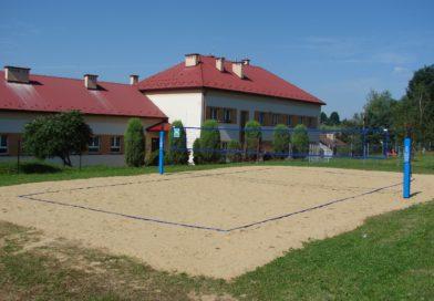 Boisko do siatkówki w Olszynach