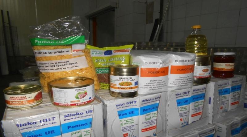 Żywność w ramach programu Banku Żywności