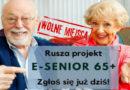 """Trwa nabór do projekt """"Małopolski e-Senior"""" – zachęcamy rejestracji i wzięcia udziału w projekcie."""