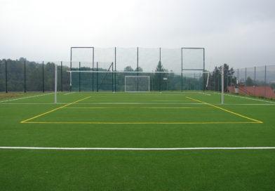 Przebudowa boiska w Olszynach
