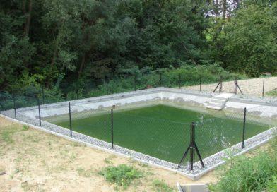 Renowacja zbiornika w Rzepienniku Suchym