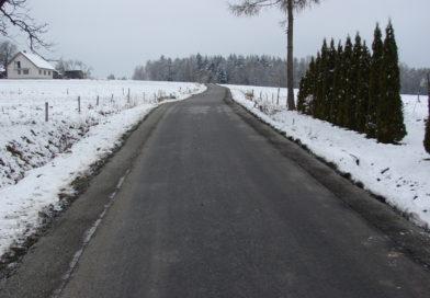 Droga Olszyny w kier. p. Jodłosia