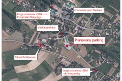 10 planowany parking przy kościele parafialnym w  Turzy