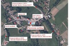 9 planowany  parking w centrum  Olszyn