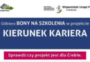 """Zapraszamy na spotkanie informacyjne o projektach """"Kierunek Kariera"""", """"Kierunek Kariera Zawodowa"""", """"Nowy start w Małopolsce"""" realizowanych przez Wojewódzki Urząd Pracy w Krakowie"""