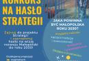 Konkurs na hasło – wizja rozwoju małopolski