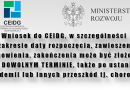 Wnioski do CEIDG