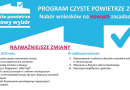 "Nowe zasady programu ""Czyste Powietrze"" od 15 maja 2020r."