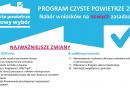 """Nowe zasady programu """"Czyste Powietrze"""" od 15 maja 2020r."""