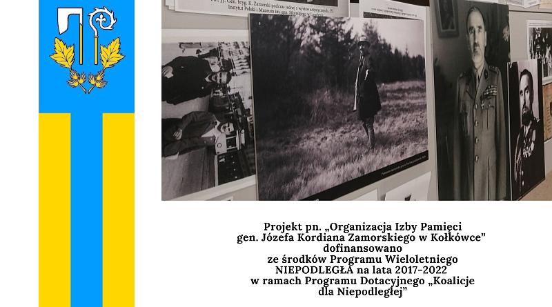 Wójt Gminy Rzepiennik Strzyżewski – Marek Karaś objął patronat honorowy nad Izbą Pamięci gen. Józefa Kordiana Zamorskiego w Kołkówce