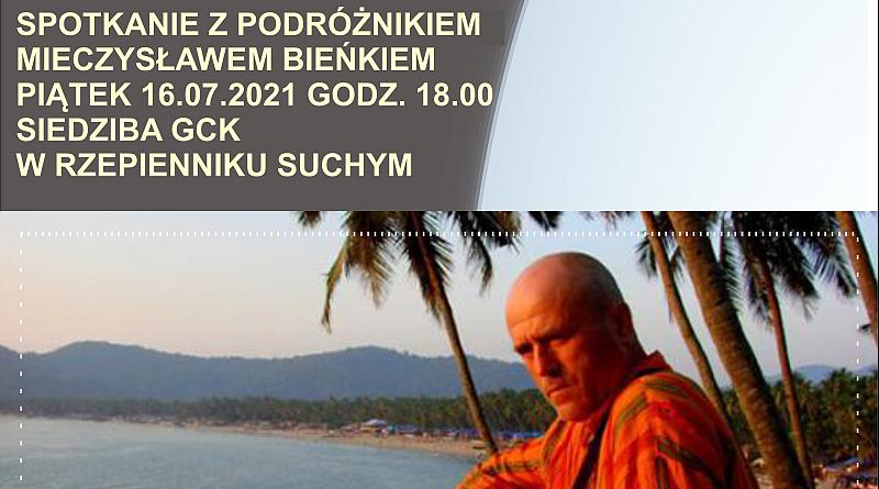 Spotkanie z niezwykłym podróżnikiem Mieczysławem Bieńkiem.